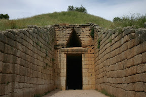 Entrance to the Treasury of Atreus