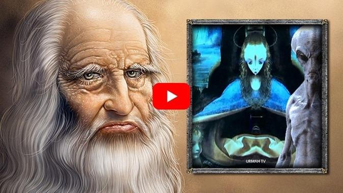 Mensagens ocultas sobre Aliens nas pinturas de Leonardo Da Vinci