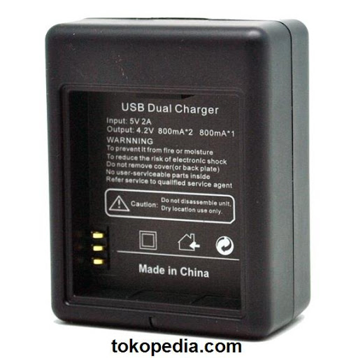 Dual Battery Charger for Xiaomi Yi Battery