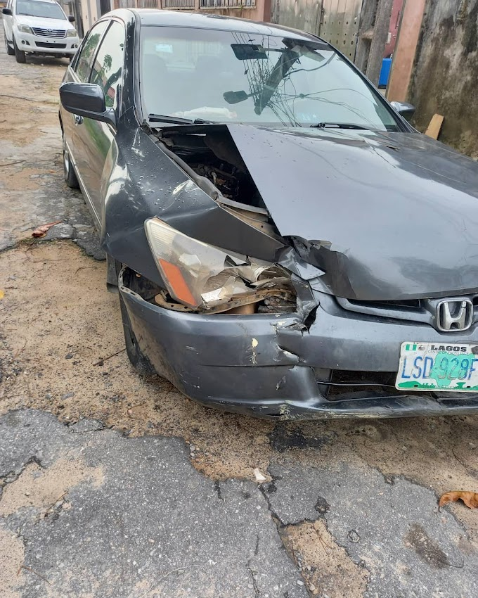 OAP Lolo1 grateful to have survived a car accident alongside her kids   Lagbajablog