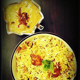 Paneer Dum Biryani With Onion Ka Salan