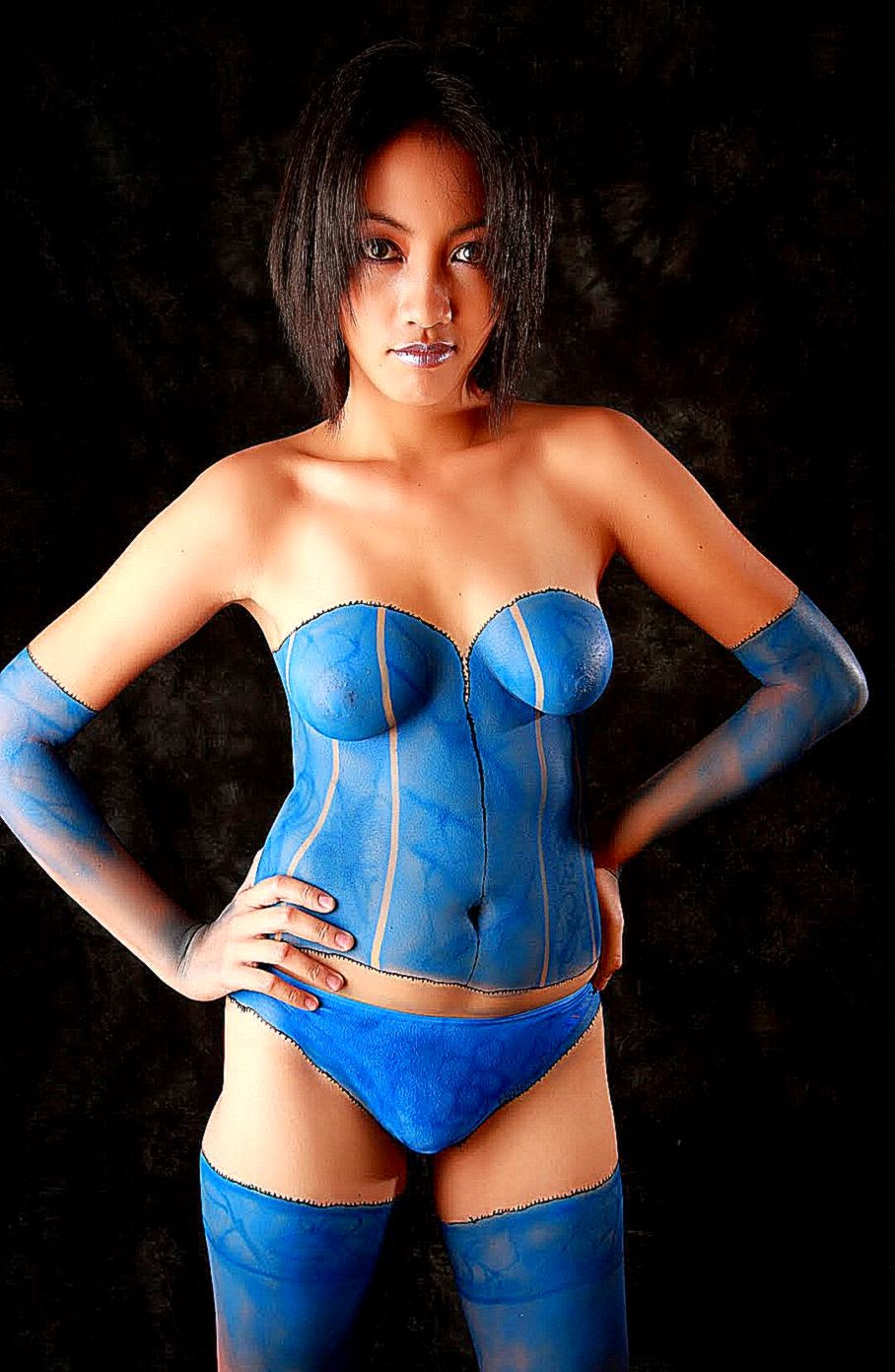 body painting galleries