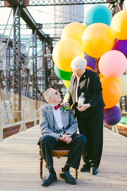 #相伴走過一甲子歲月:可愛老夫妻以『天外奇蹟』為靈感拍攝周年紀念照 12