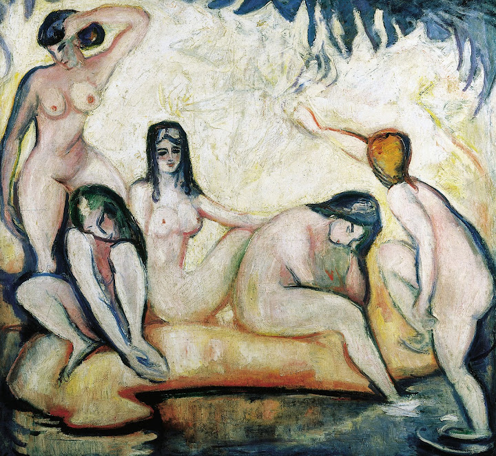 Othon Friesz - Bathers, 1907