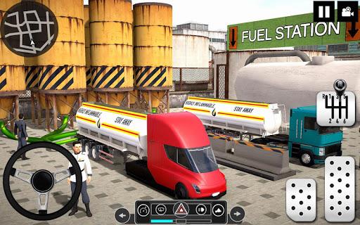 Oil Tanker Truck Driver 3D - Free Truck Games 2020 apktram screenshots 5