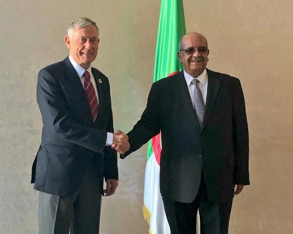 الجزائر ترحب بتقرير المبعوث الاممي الى الصحراء الغربية حول زيارته الاخيرة الى المنطقة