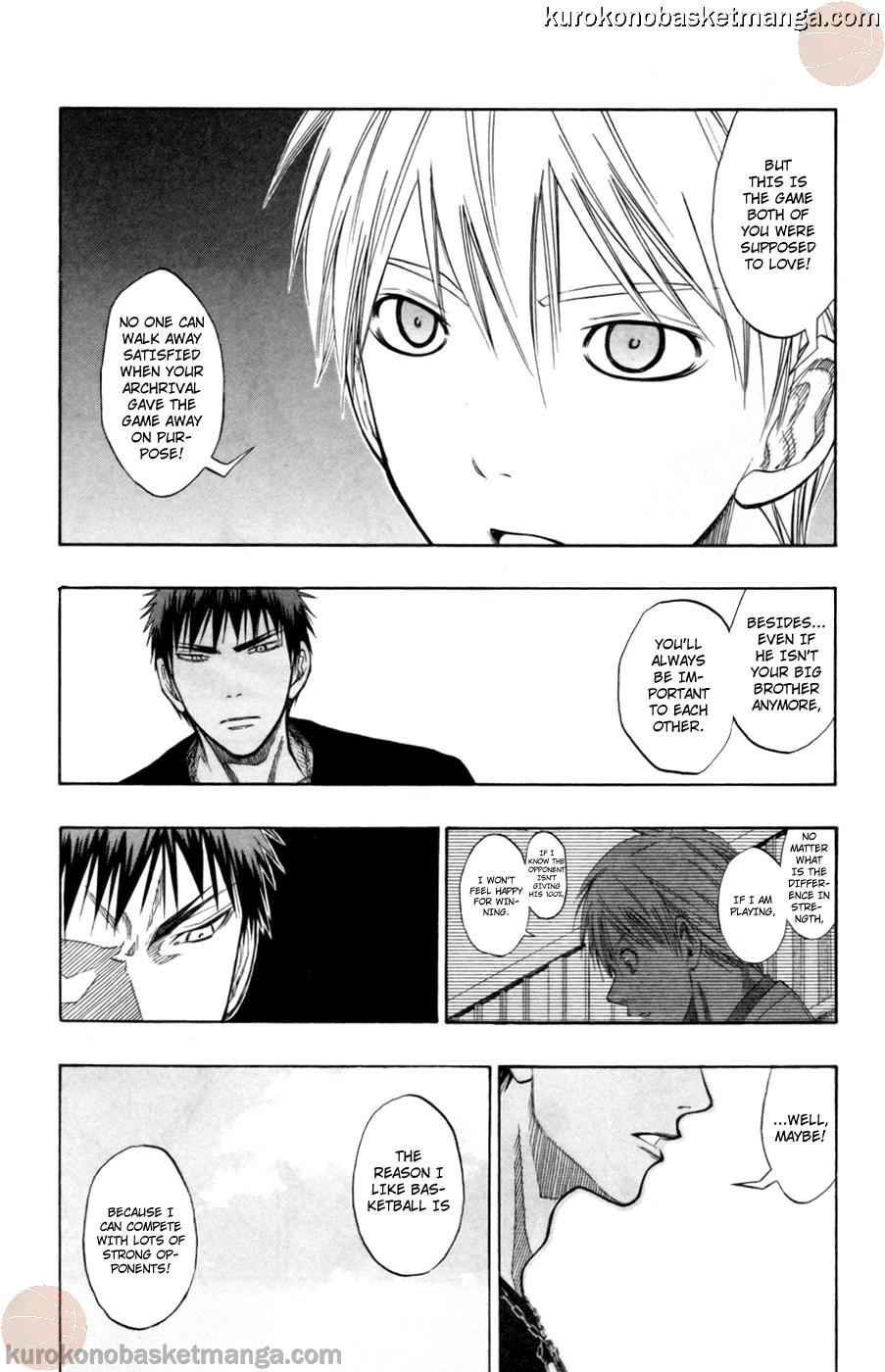 Kuroko no Basket Manga Chapter 77 - Image 04