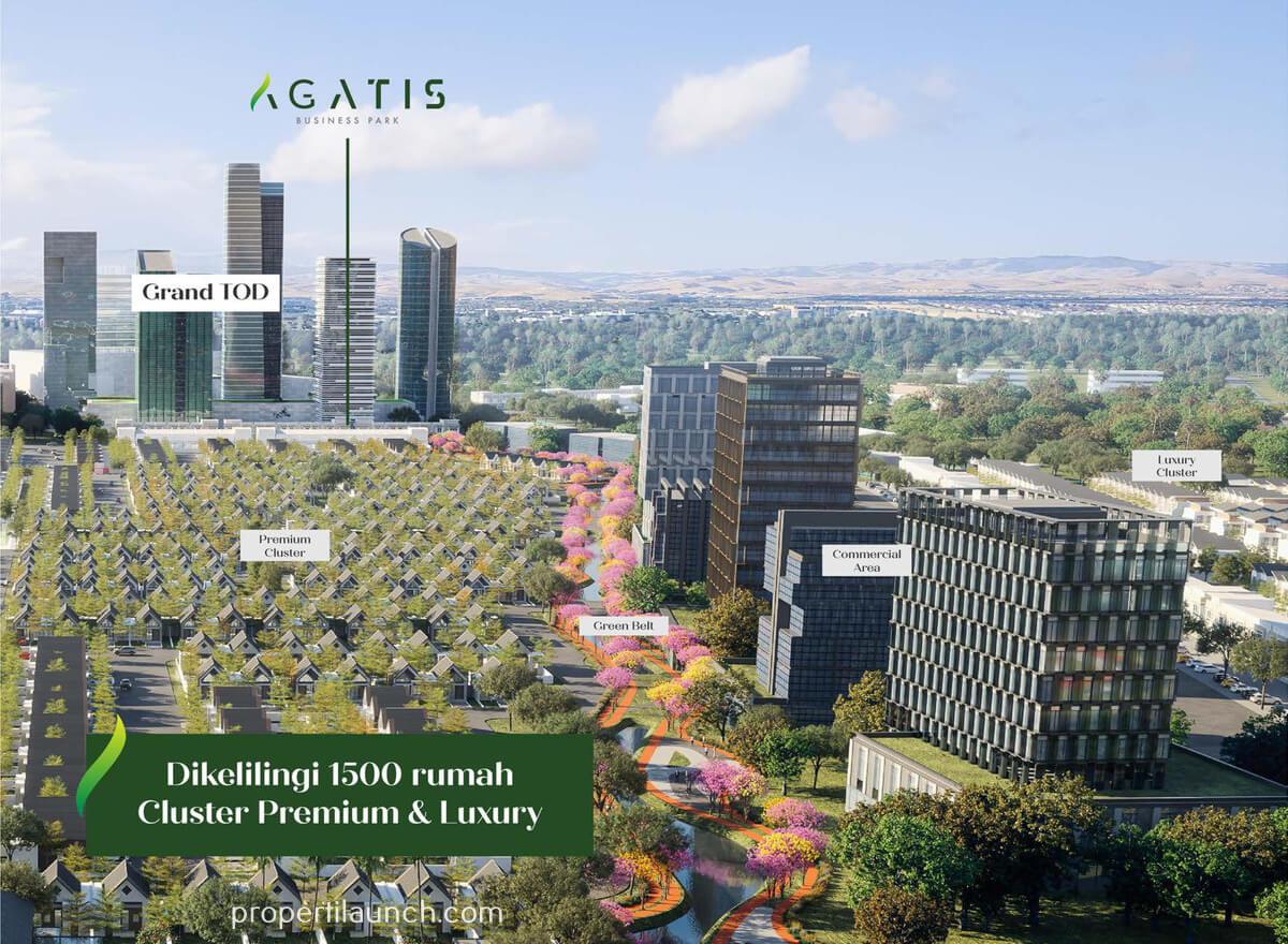 Lokasi Ruko Agatis Business Park