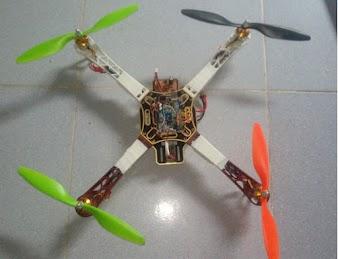 Báo cáo mô hình Quadcopter  sử dụng Arduino R3 và module gyro MPU6050