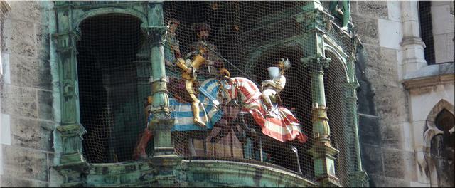 Carrillón Torre Ayuntamiento - Múnich