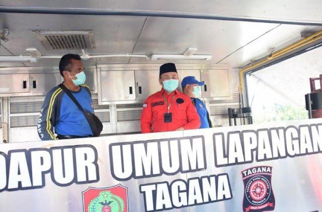 Bantu Korban Banjir Kalsel, Gubernur Sugianto Kirim Tim Tagana