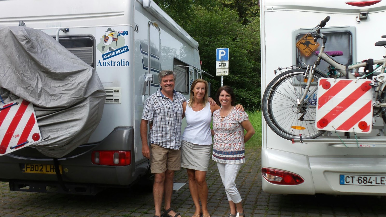 Travelling with Bluey: Woelcke motorhomes, Wissemberg France