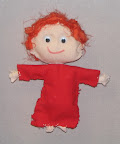 Red Rag Doll by Ave