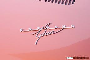 VW Karmann Ghia emblem