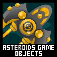 Asteroids Game Sprite Sheet