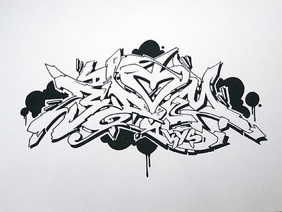 Graffiti Mawor Indilabel Collection Sketch Graffiti Wildstyle By Awsome