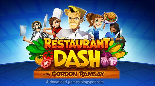 لعبة مطعم الطيخ Restaurant DASH: Gordon Ramsay