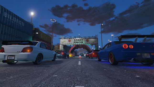 Pista de Drift Large Dock v1.1 para GTA 5