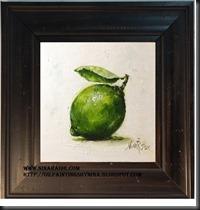 framed jumbo lime