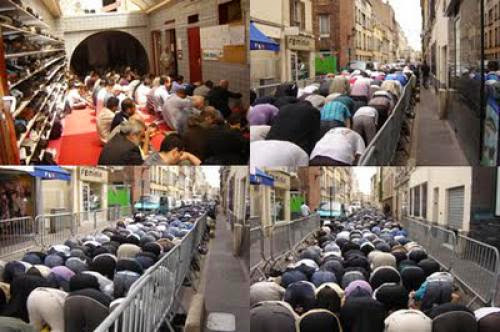 Friday Prayer In Puteaux