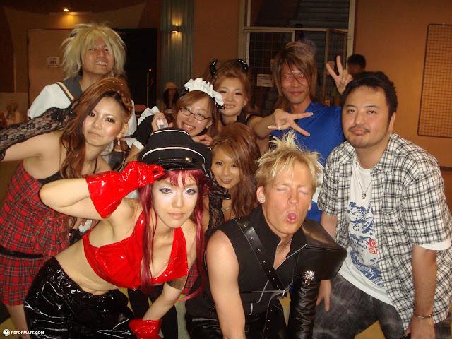 cosplay parapara at differ ariake in odaiba in Ginza, Tokyo, Japan