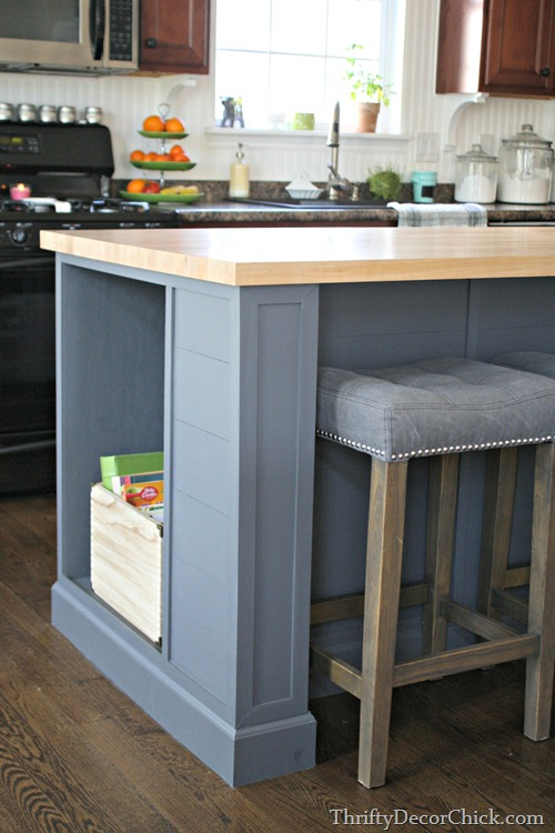 extending kitchen island