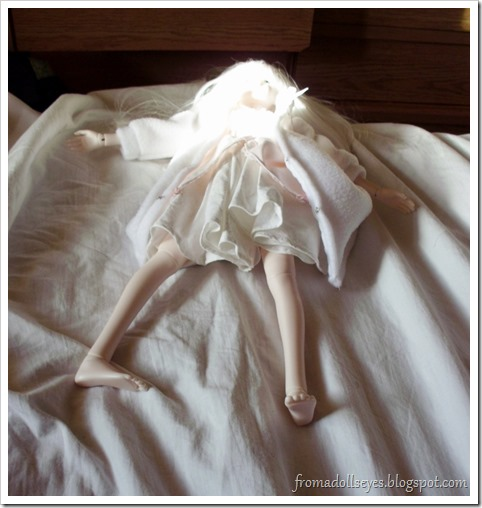 The Doll Fell Over in the Middle of a Photo Shoot