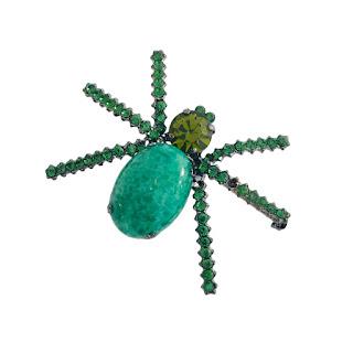 Giorgio Armani Spider Brooch