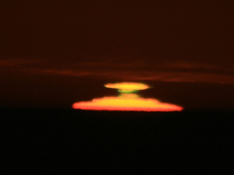 Novaya Zemlya, o curioso fenômeno óptico