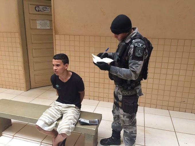 Altamira: Rapaz é preso em flagrante com arma de fogo