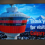 calgary tower in Calgary, Alberta, Canada