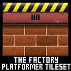 factory warehouse platformer game tileset