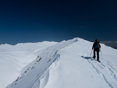 Avancem per la carena de la Serra Pedregosa, direcció est