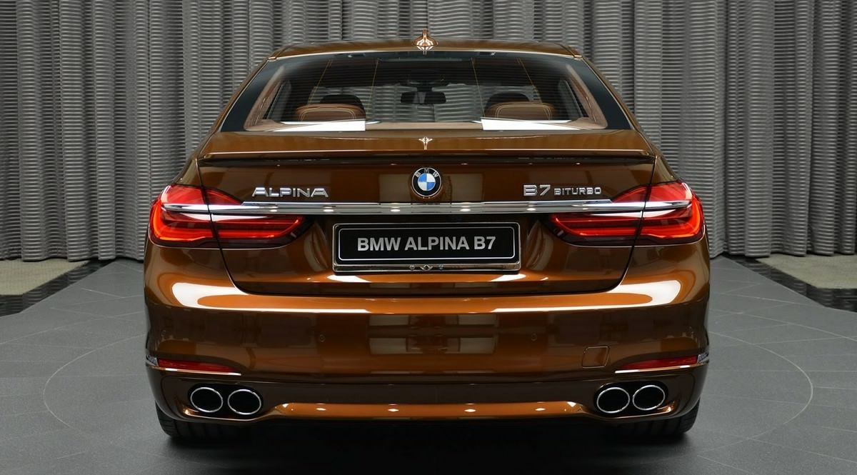 Exotic Chestnut Brown BMW Alpina B Biturbo - Bmw m7 alpina