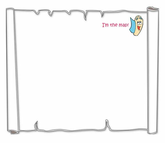 Pin dora map invite on pinterest for Dora the explorer map template