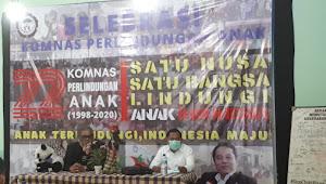 Komnas Perlindungan Anak Bersama Anak Indonesia Sambut Kedatangan DPRD Jawa Barat