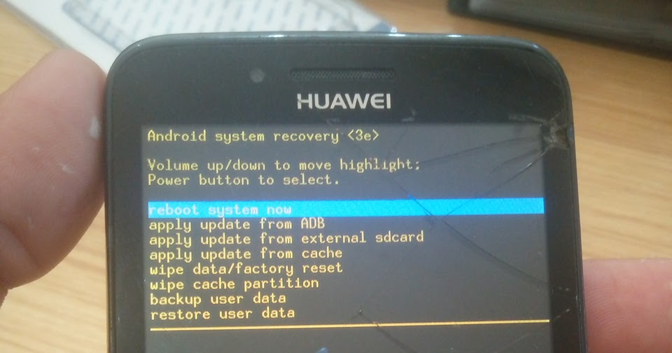 Y511 U00 Recovery Mode