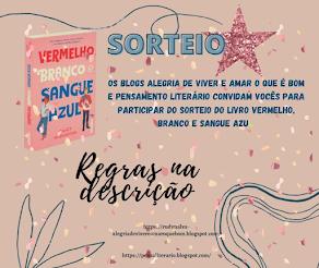 SORTEIO #30 - EM PARCERIA COM O BLOG PENSAMENTO LITERÁRIO