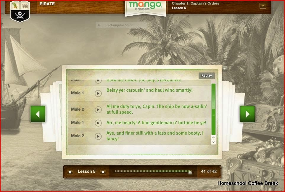 Mango Languages Homeschool