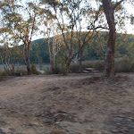 One camping area with views of the water