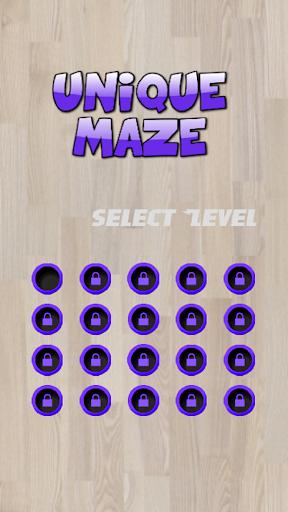 Unique Maze Game