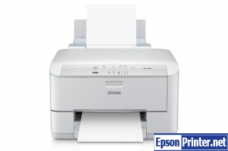 How to reset Epson WorkForce WP-4090 printer