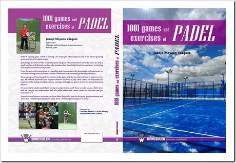 """1001 Games and Exercises of Padel"" ya disponible en inglés para todos los interesados."