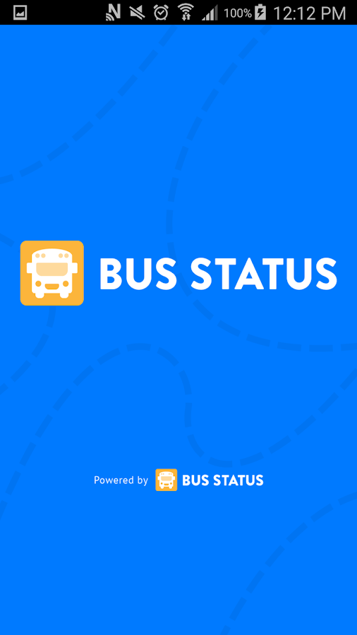 Bus Status - Demo- screenshot