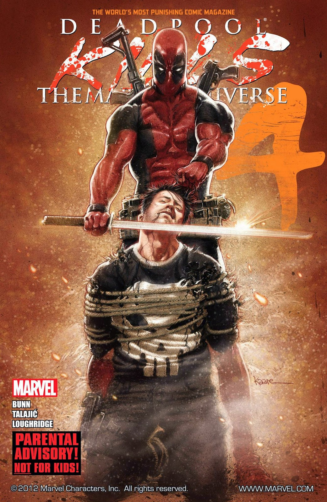 Deadpool Kills the Marvel Universe by Cullen Bunn - Books