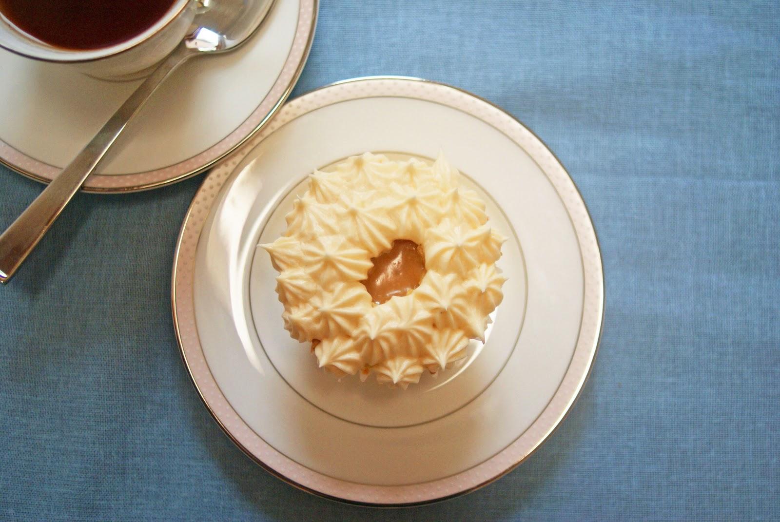 Butterscotch Cupcakes Using Cake Mix