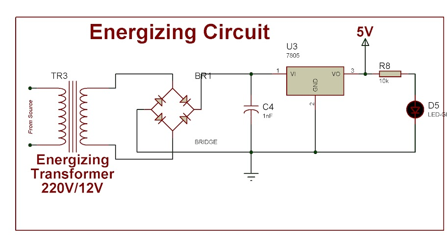 Energizing Circuit for Microcontrollers