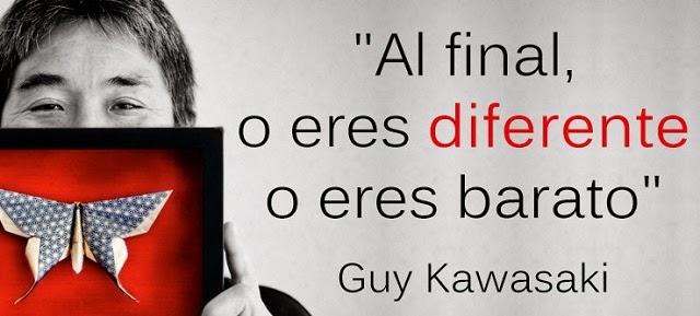 Eres diferente o eres barato, Guy Kawasaki