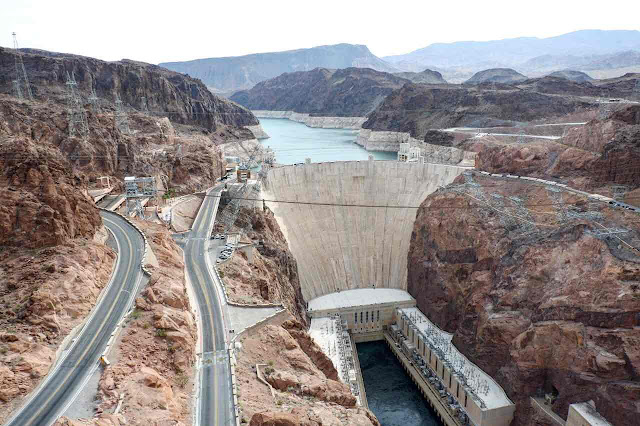The Famous Hoover Dam