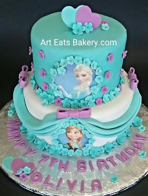 Specialty Girls Birthday Cake Art Eats Bakery Taylors SC